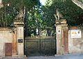 023 Vil·la Martorell (Alella), portal d'entrada a la finca, c. Riera Fosca 3-5.jpg