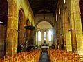 035B Daoulas, église paroissiale, vue intérieure.jpg