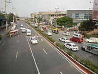 0596jfQuezon City West North Footbridge SM North EDSA Avenuefvf 08.jpg