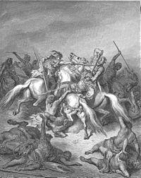 David And Abishai Sneek Into Saul S Tent Coloring Pages