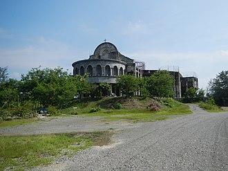 Roman Catholic Diocese of Cabanatuan - Image: 08358jf Saint Nicholas Tolentino Highway Cathedral Cabanatuan Cityfvf 12