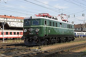 Museumslokomotive 1010.10 in Graz Hbf. (2007)