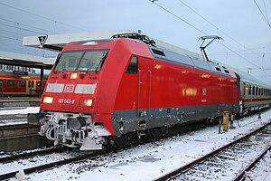 DB Class 101 - Image: 101 043 8 in Nürnberg