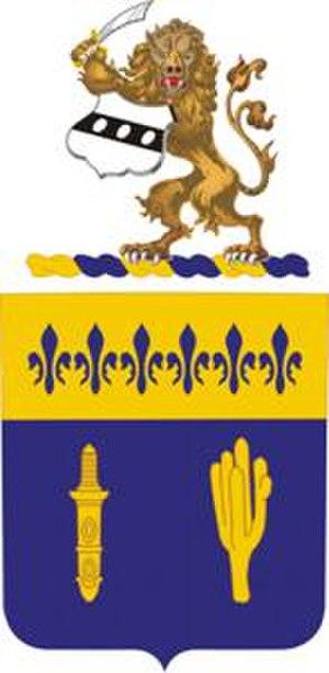 109th Infantry Regiment (United States) - Image: 109Inf Regt COA