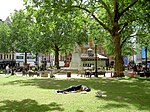 11am and still asleep. Leicester Square.