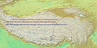 Mongol invasions of Tibet