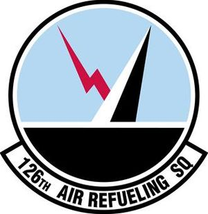 126th Air Refueling Squadron - Image: 126th Air Refueling Squadron emblem