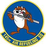 145th Air Refueling Squadron emblem