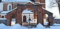 160313 Gate of Saint Stanislaus church in Luszyn - 02.jpg