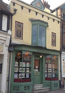 173, High Street, Berkhamsted Medieval building in Hertfordshire, England