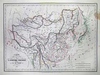 Conrad Malte-Brun - Image: 1837 Malte Brun Map of China and Japan Geographicus China mb 1837