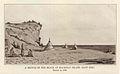 1843 drawing of Mission Point beach at Mackinac Island, Michigan.jpg