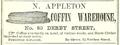 1857 Appleton Coffin Warehouse DerbySt SalemDirectory Massachusetts.png