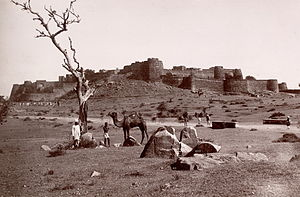 Rani of Jhansi - Jhansi Fort, 1882