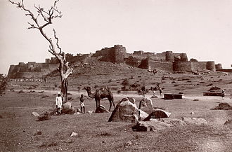 Central Indian campaign of 1858 - Jhansi Fort