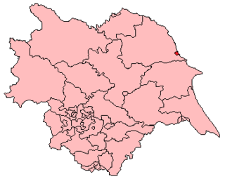 Scarborough (UK Parliament constituency) Parliamentary constituency in the United Kingdom, 1997 onwards
