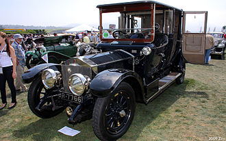 Barker (coachbuilder) - 1913 landaulette on a Rolls-Royce 40/50 Silver Ghost chassis