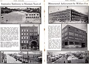 Alan E. Freedman - Image: 1922 Fox Folks Fox History 3 and 4
