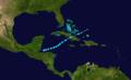 1927 Atlantic tropical storm 6 track.png