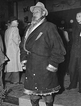 Tibet (1912–1951) - The Tibetan representative who attended the Chinese Constitutional Assembly.