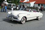 1949 Buick Super Cabriolet, Owner Lars Hille with post-war attire IMG 9313.JPG