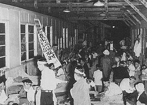 Nissan - 1953 Nissan labor dispute