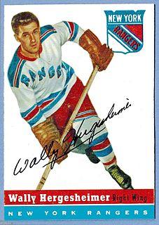 Wally Hergesheimer Canadian ice hockey player