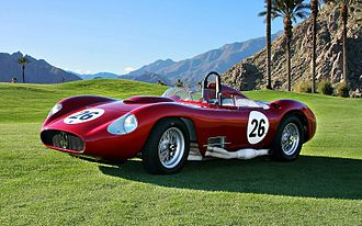 Maserati 450S - 1957 Maserati 450S at Palm Springs 2010.