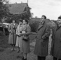 1958 visite d'une délégation INRA au Haras du Pin Cliché Jean Joseph Weber-54.jpg
