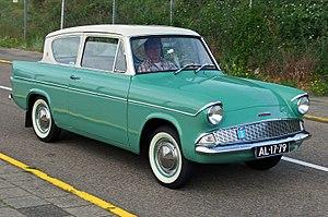 Ford Anglia - 1960 Ford Anglia 105E DeLuxe