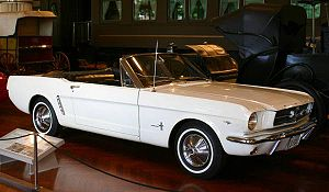 The First Mustang Produced - photographed by D...