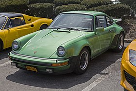 1976 Porsche 930 Turbo, Emerald Green met, front left.jpg