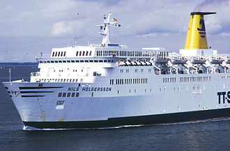 MS Theofilos - Nils Holgersson at Travemünde in 1981