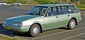 Holden Camira - Holden JD Camira SLX wagon