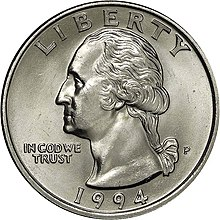 1994-P Washington quarter obverse.jpg