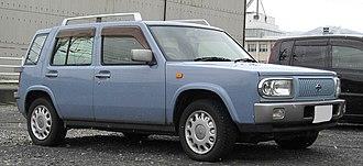 Nissan Rasheen - Image: 1997 2000 NISSAN Rasheen