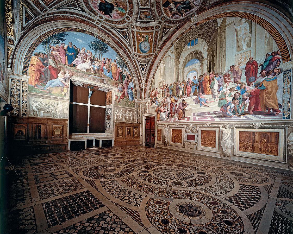 Rafaelove sobe Vatikan slika
