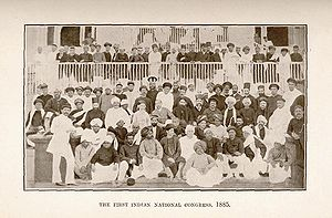 Indian National Congress - First session of Indian National Congress, Bombay, 28–31 December 1885