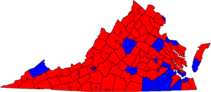 2000 Virginia Senate election map.png