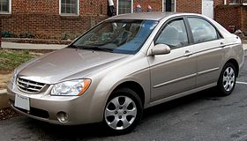Kia Spectra 2004-2008 Workshop Service Repair