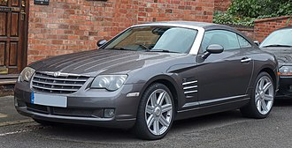 Chrysler Crossfire - Image: 2004 Chrysler Crossfire 3.2