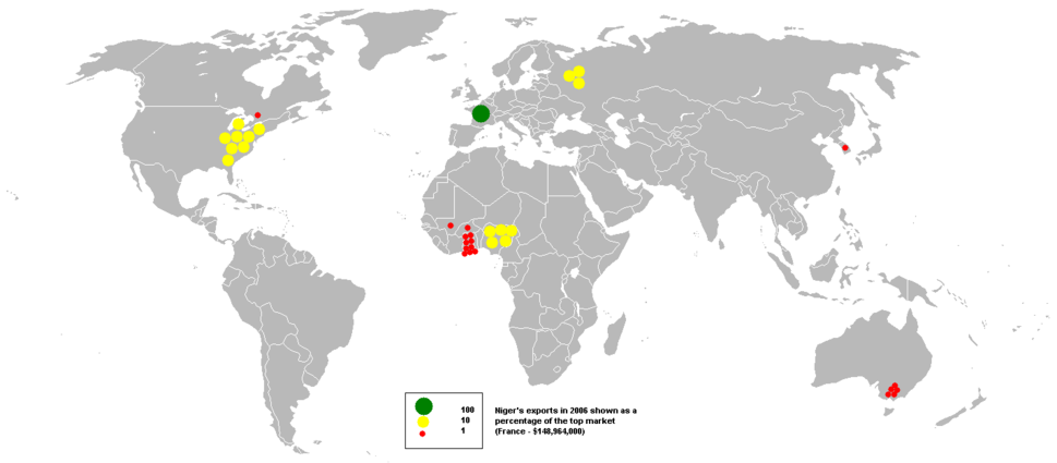 2006Niger exports