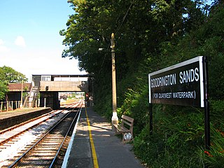 Goodrington Sands railway station