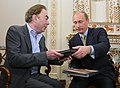 2008-11-15 Владимир Путин, Эндрю Ллойд Уэббер (3).jpeg