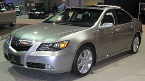2012 Acura on Acura Rl
