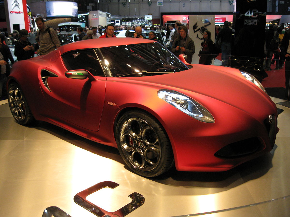 alfa romeo 4c concept wikipedia. Black Bedroom Furniture Sets. Home Design Ideas