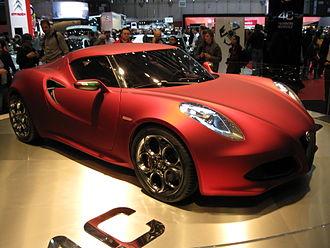 Alfa Romeo 4C - 4C Concept