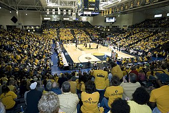 CFSB Center - View of the crowd inside the CFSB Center during a February 26, 2011 basketball game