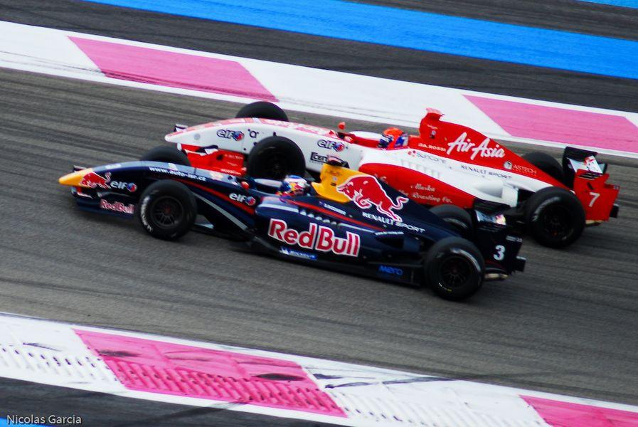 3 Daniel Ricciardo - ISR VS #7 Alexander Rossi - Fortec Motorsport - 2011 Formula Renault 3.5 Series - Circuit Paul Ricard - Race 1