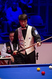 Choi Sung-won (billiards player) South Korean professional billiards player